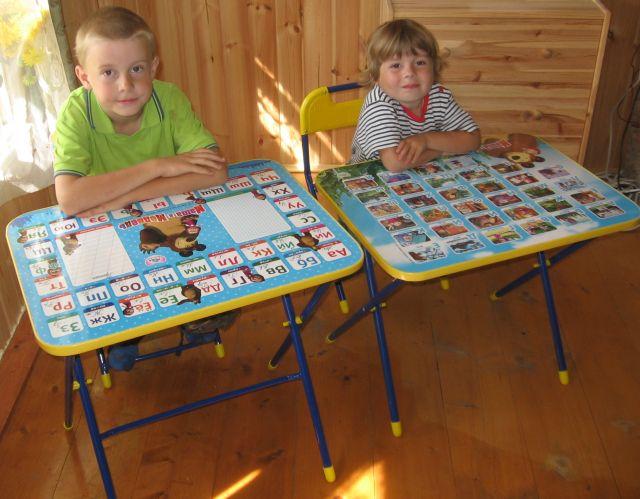 складной комплект детской мебели маша и медведь родные игрушки