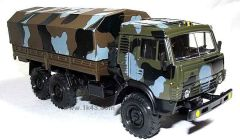 игрушка грузовик КАМАЗ 5350 камуфлированный