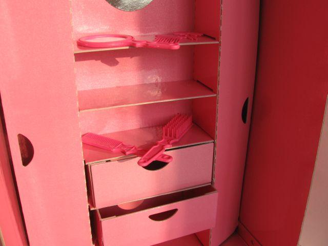 Как сделать шкаф из картона для куклы своими 787