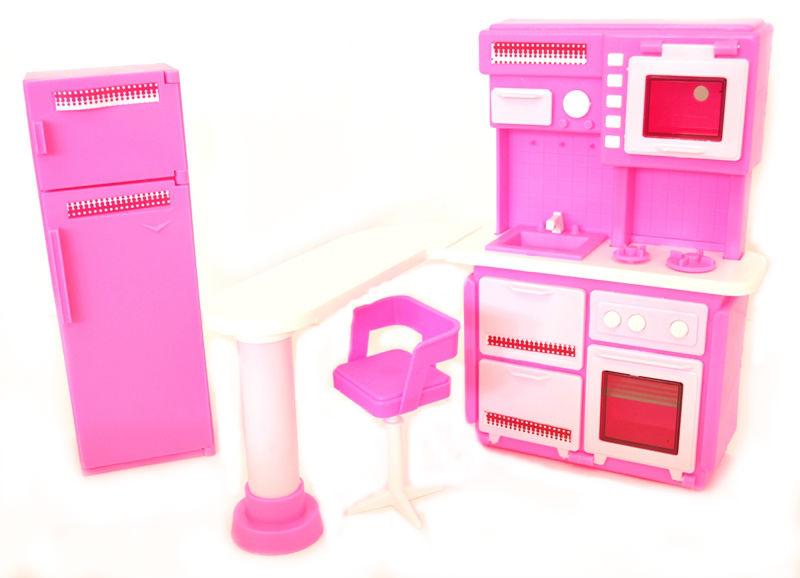 кухня для куклы холодильник для куклы родные игрушки