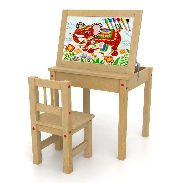 Столы и стулья для рисования