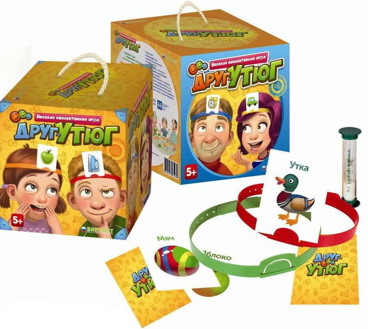 Игра Угадай слово на лбу с бумажками - Родные игрушки