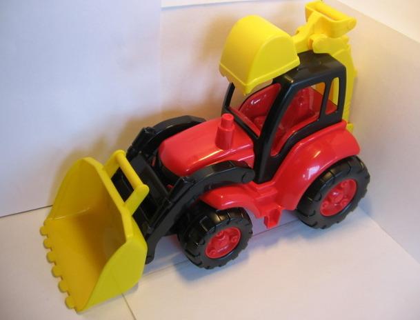 Большой детский трактор Великан - Полесье игрушки