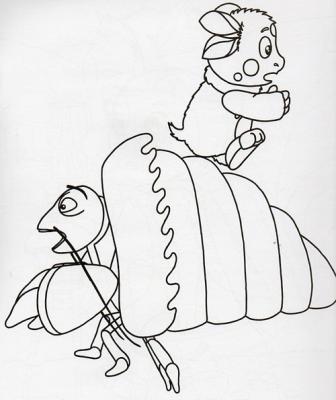 лунтик и его друзья раскраска люкс арт 4752
